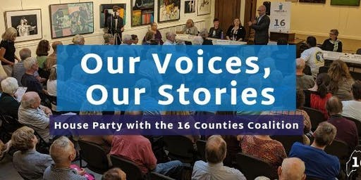 Our Voices, Our Stories House Party