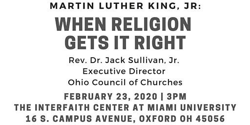 When Religion Gets It Right: Martin Luther King, Jr.