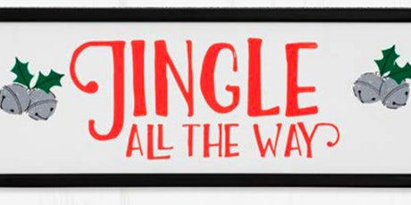 Christmas Chalking-Jingle all the way workshop tickets