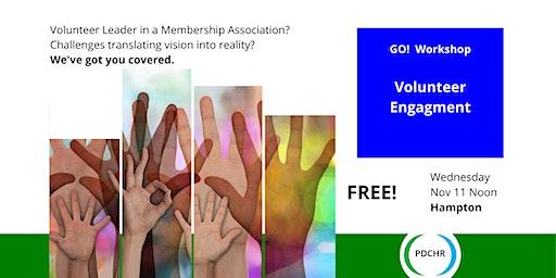 PDCHR GO! Workshop—Volunteer Engagement