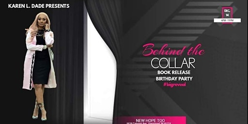 Behind the Collar book release/birthday party.