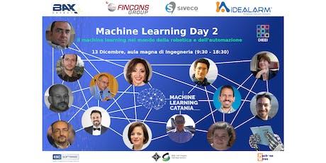 Machine Learning Day 2 - Il machine learning nel mondo della robotica tickets