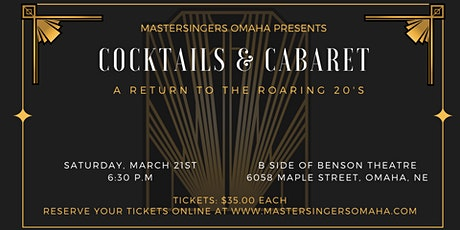 Cocktails & Cabaret tickets