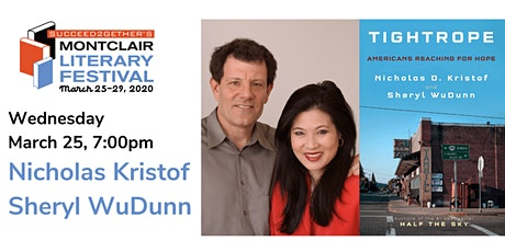 Nicholas Kristof & Sheryl WuDunn – Tightrope: Americans Reaching for Hope tickets