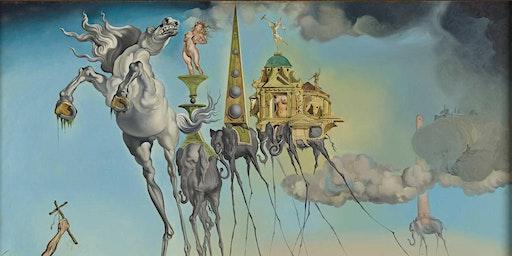 Dali & Magritte surrealisme uitbeelden