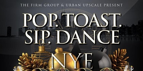 Pop.Toast.Sip. Dance. New Years Eve 2020 at The Bracket Room tickets