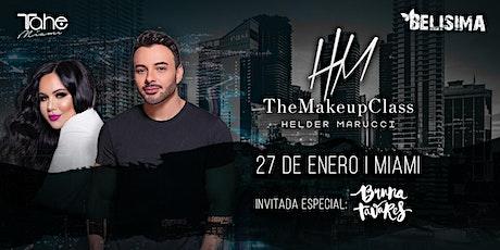 The Makeup Class | Helder Marucci | Miami 2020 entradas