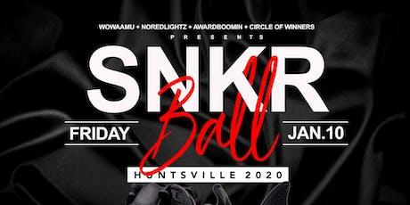 SNKR Ball Huntsville 2020 tickets