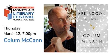 An Evening with Colum McCann tickets