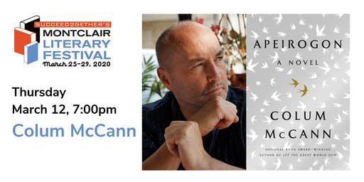 Book Tour – Colum McCann: Apeirogon