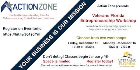 Veterans Florida Entrepreneurship Program 2020 tickets
