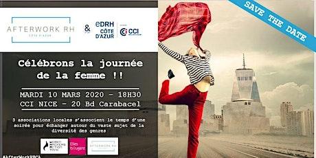 AfterWork RH Côte d'Azur - 10 mars 2020 - Célébrons la journée de la femme ! billets