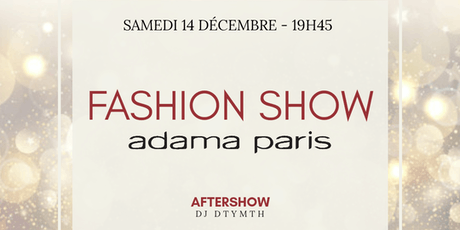 FASHION SHOW ADAMA PARIS billets