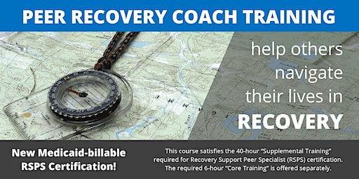 Peer Recovery Coach Training - Jan 2020