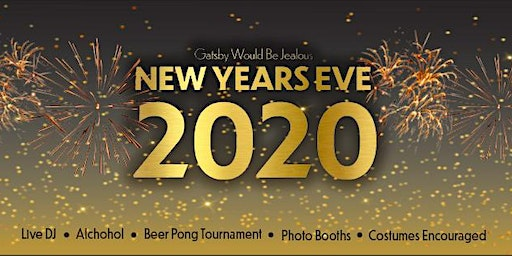 Gatsby Would Be Jealous New Year's Eve Party
