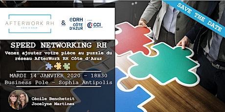 AfterWork RH Côte d'Azur - 14 janvier 2020 - Speed Networking RH billets