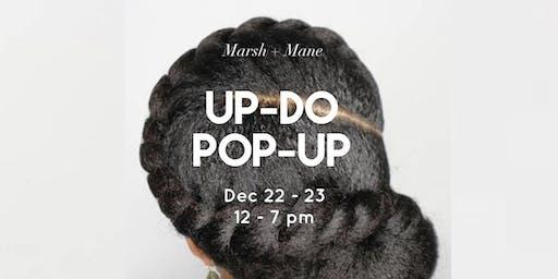 Natural Hair Up-do Pop-up !