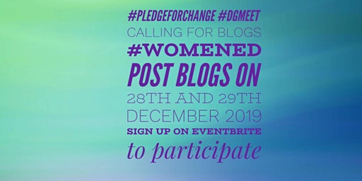 #WomenEd.  IN 2020, WHAT WILL BE YOUR 10% Braver PLEDGE FOR CHANGE?