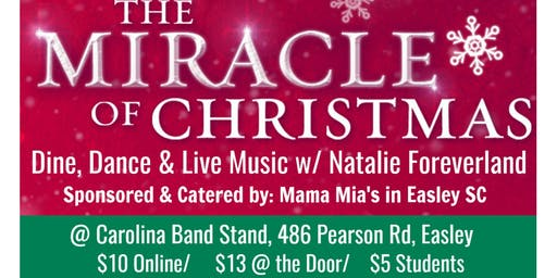 The Miracle of Christmas - Live Music with Natalie Foreverland