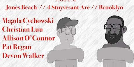 Power Broker: a comedy show tickets