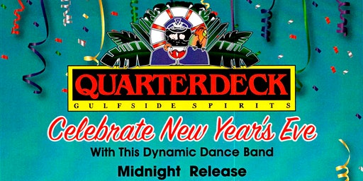 New Year's Eve Party at Quarterdeck - Isla Grand Beach Resort