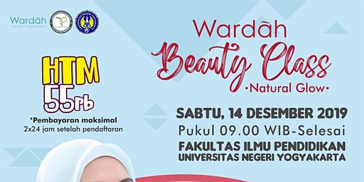 Wardah Beauty Class - Natural Glow [ YOGYAKARTA ]