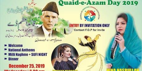 Quaid-e-Azam Day Celebration tickets