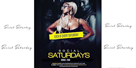 Social Saturday's @ Fantasy Lounge Free Guest RSVP list tickets