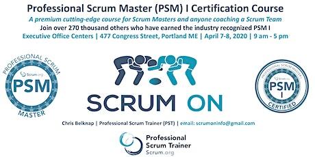 Scrum.org Professional Scrum Master PSM - Portland ME - Apr 7-8, 2020 tickets
