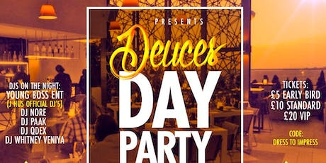 Deuces 2019 - Rooftop Day Party (UK to GH) tickets