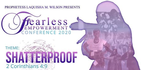 Shatterproof! Dare to be Fearless Conference tickets