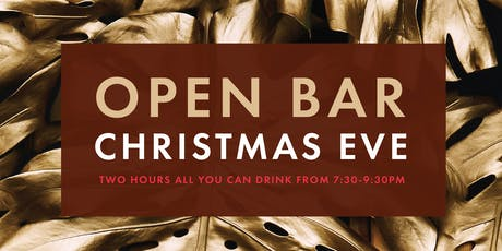 Christmas Eve Open Bar at Kairoa tickets