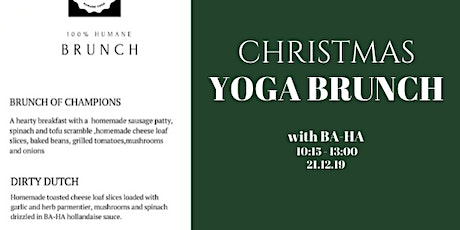 CHRISTMAS Yoga Brunch with BA-HA tickets