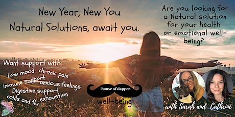 house of dapper. New You, Natural Solutions Well-being tickets