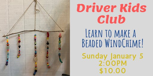 Driver Kids Club- Beaded Windchime