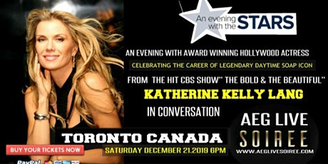 AN EVENING WITH BOLD & THE BEAUTIFUL KATHERINE KELLY LANG IN TORONTO DEC 21 tickets
