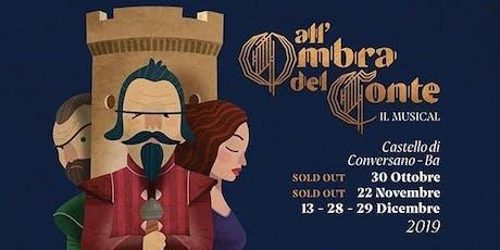 All'ombra del conte il musical 29 DICEMBRE 21:00 biglietti