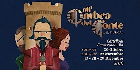 All'ombra del conte il musical 29 DICEMBRE 18:30 biglietti