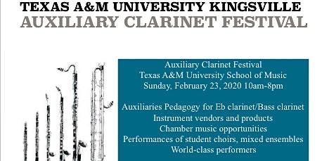 TAMUK Auxiliary Clarinet Festival