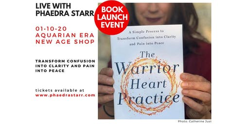 The Warrior Heart Practice Book Launch