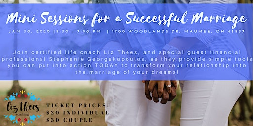 Mini Sessions for a Successful Marriage