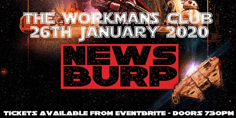 News Burp Live! tickets