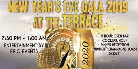 New Year's Eve at the Terrace tickets