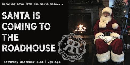 Santa at The Redding Roadhouse