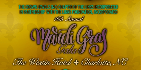 Crown Jewels (NC) Links 16th Annual Mardi Gras Gala tickets