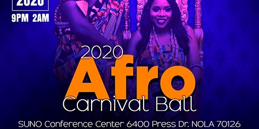 2020 Afro-Carnival Ball