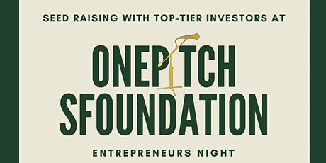sFoundation / OnePiece Pitch Night  tickets