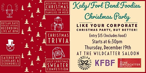 Katy/Fort Bend Foodies Christmas Party