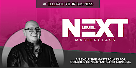 Next Level Masterclass with Dean Seddon tickets
