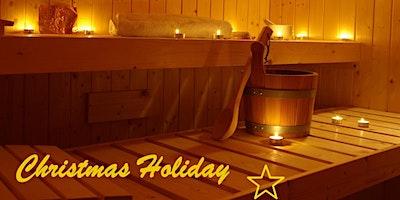 Weihnachtsangebot Sauna Karten (10er, 5er)